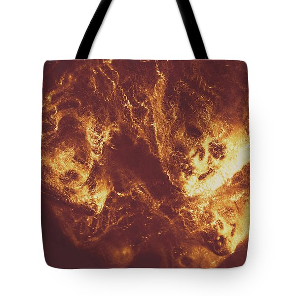 Demon Hellish Nightmare Tote Bag