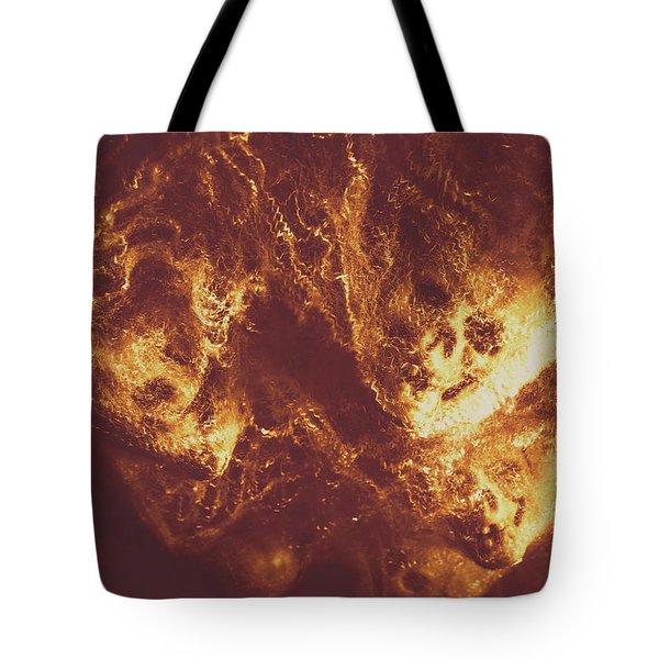 Demon Hellish Nightmare Tote Bag by Jorgo Photography - Wall Art Gallery