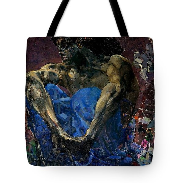 Demon  Tote Bag by Mikhail Vrubel