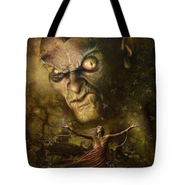 Demonic Evocation Tote Bag