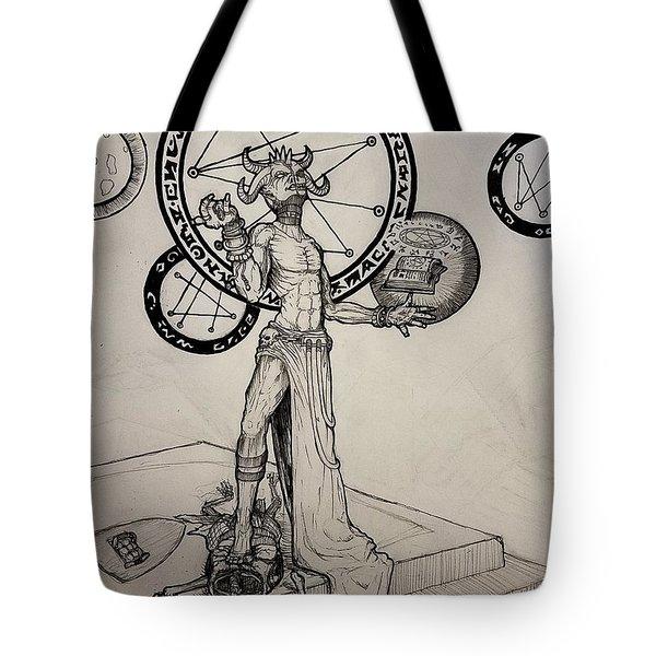 Demonic Ritual Tote Bag