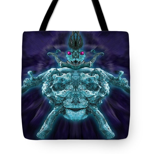 Tote Bag featuring the photograph Demonwood 2 by WB Johnston