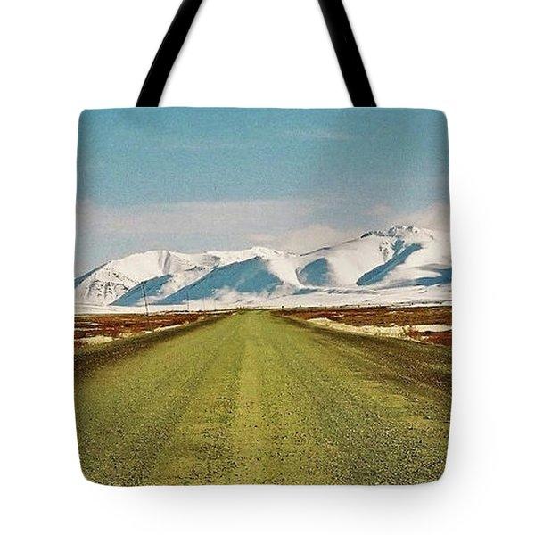 Dempster Highway - Yukon Tote Bag by Juergen Weiss