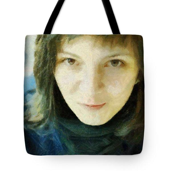 Demure Tote Bag by Jeff Kolker