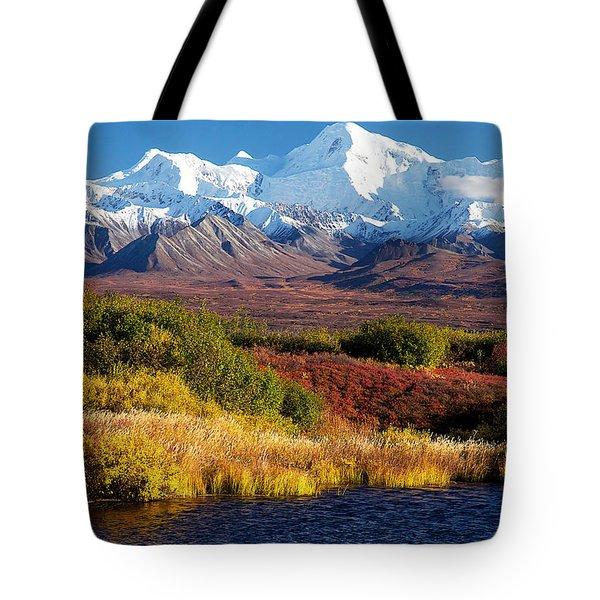 Denali Autumn Tote Bag