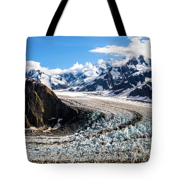 Tote Bag featuring the photograph Denali by Benny Marty