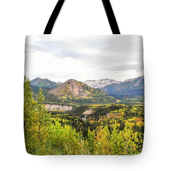 Denali National Park Landscape No 2 Tote Bag