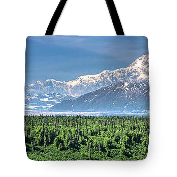 Denali Panorama Tote Bag