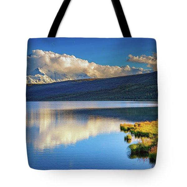 Denali Reflections Tote Bag