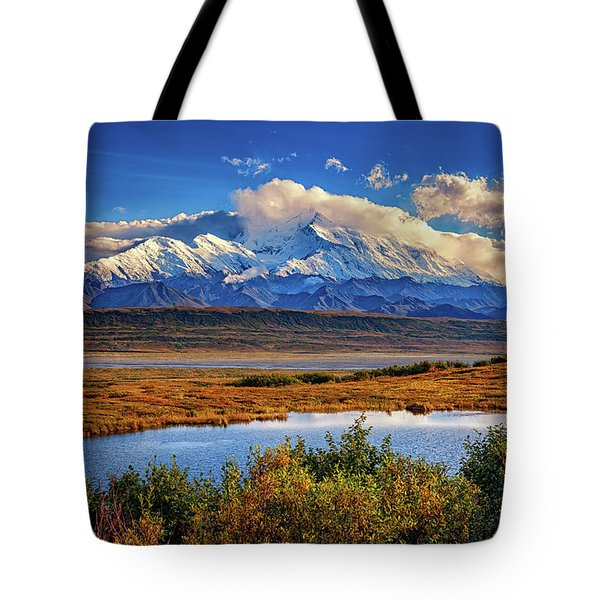 Denali, The High One Tote Bag