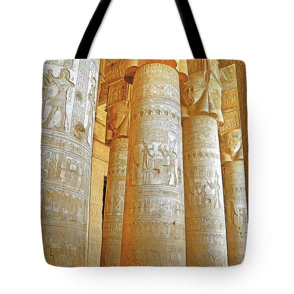 Dendera Temple Tote Bag
