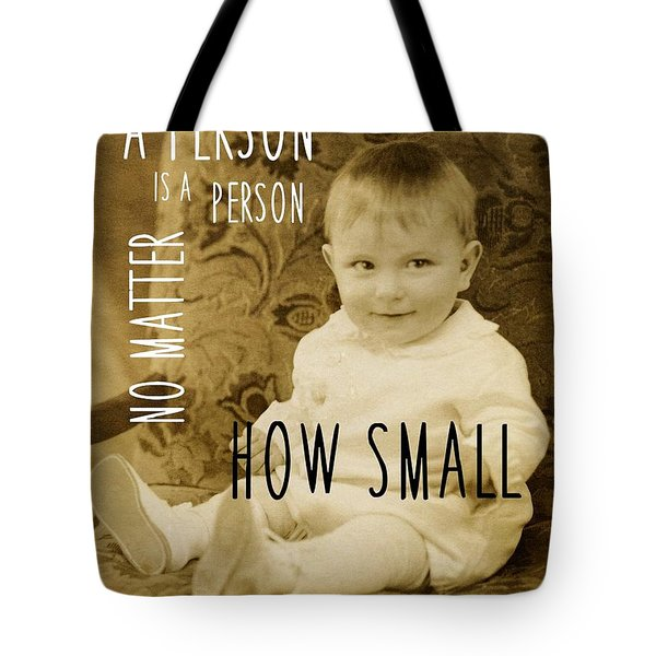 Dennis The Menace Quote Tote Bag by JAMART Photography