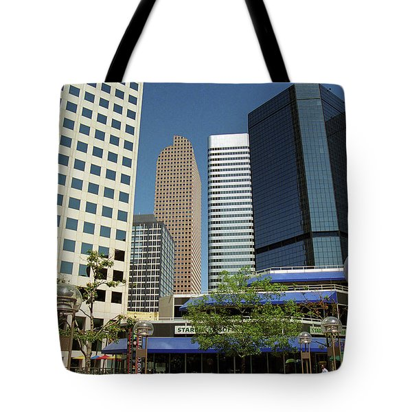 Denver Architecture Tote Bag by Frank Romeo