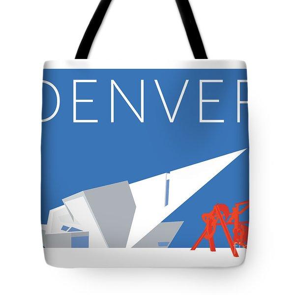 Denver Art Museum/blue Tote Bag
