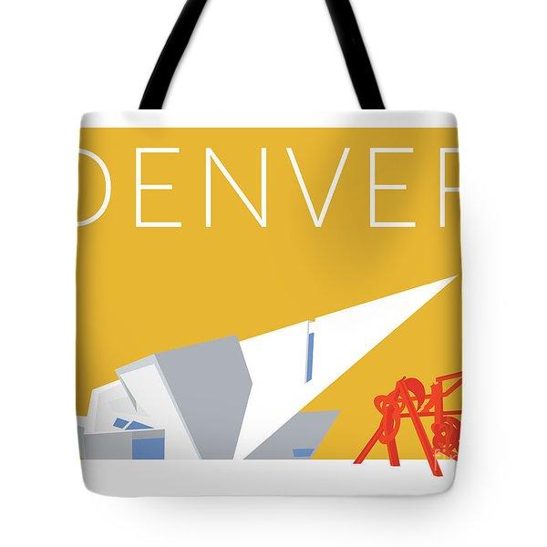 Denver Art Museum/gold Tote Bag