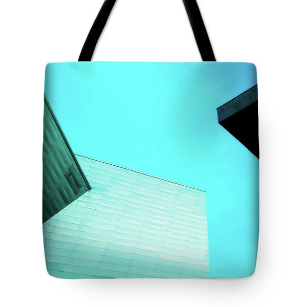 Tote Bag featuring the photograph Denver Art Museum Hamilton by Marilyn Hunt