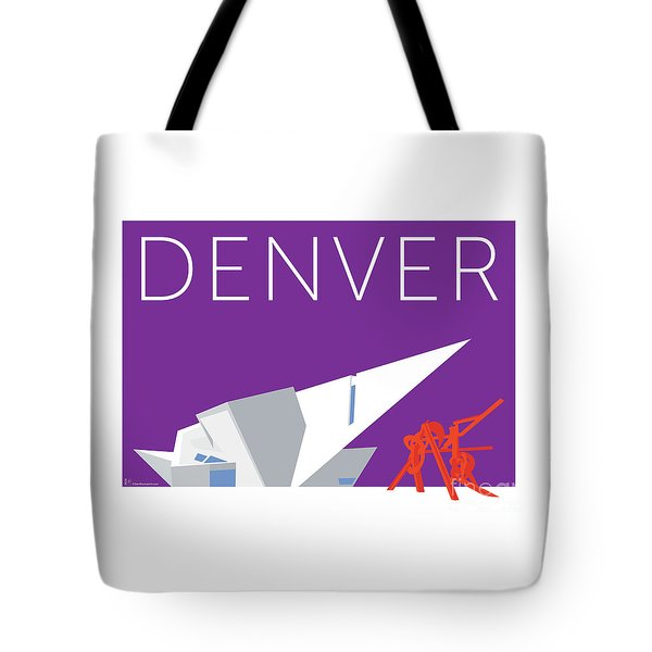 Denver Art Museum/purple Tote Bag