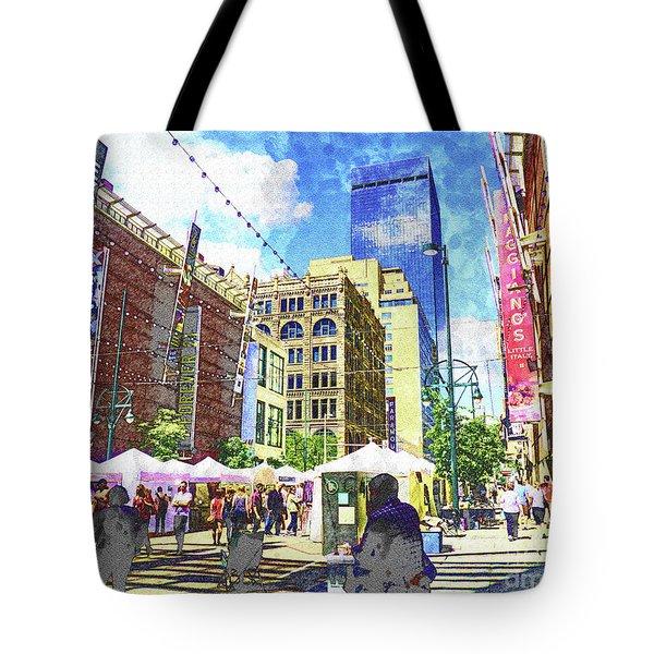 Denver Art Walk Tote Bag