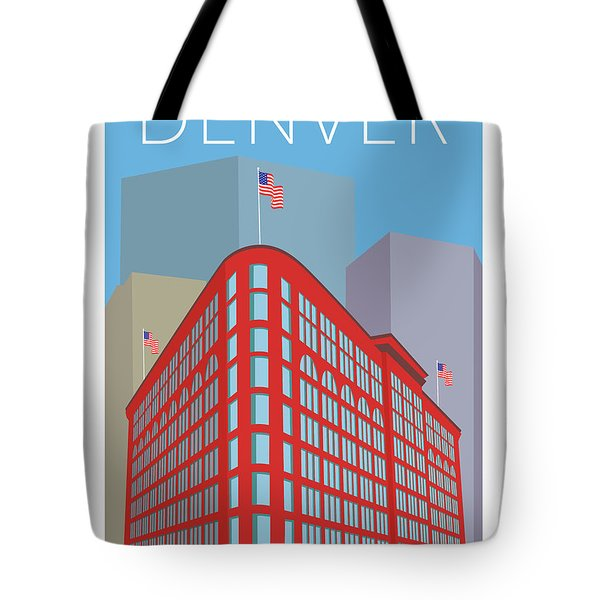 Denver Brown Palace/blue Tote Bag
