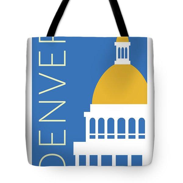 Denver Capitol/blue Tote Bag