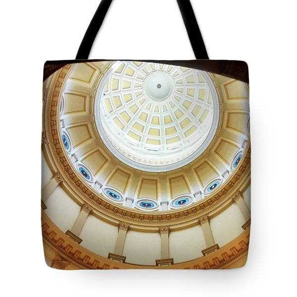 Tote Bag featuring the photograph Denver Capitol Dome 1 by Marilyn Hunt
