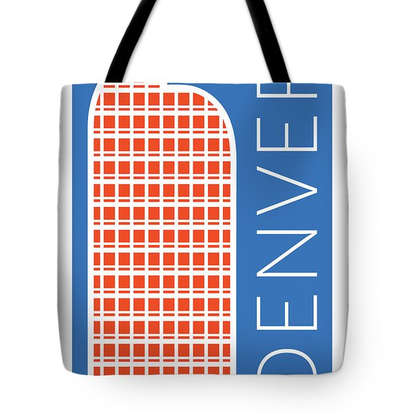 Denver Cash Register Bldg/blue Tote Bag