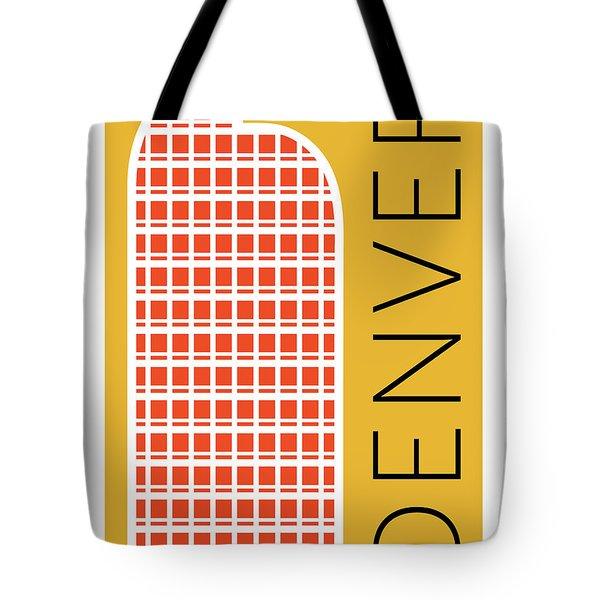 Denver Cash Register Bldg/gold Tote Bag