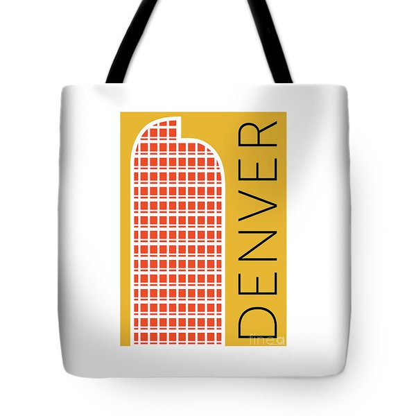 Denver Cash Register Bldg/gold Tote Bag