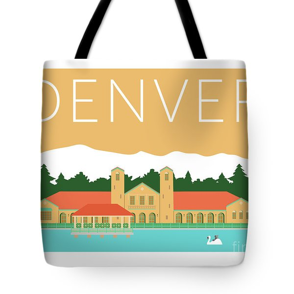 Denver City Park/adobe Tote Bag