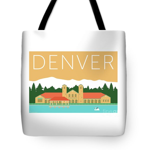 Denver City Park/adobe Tote Bag
