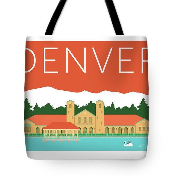 Denver City Park/coral Tote Bag
