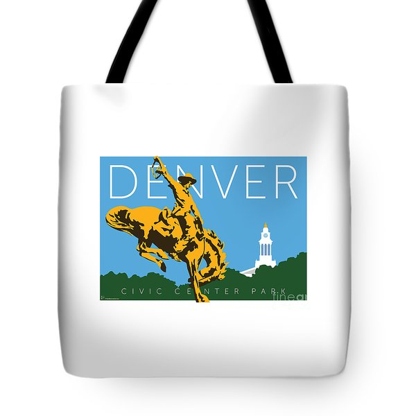 Denver Civic Center Park Tote Bag