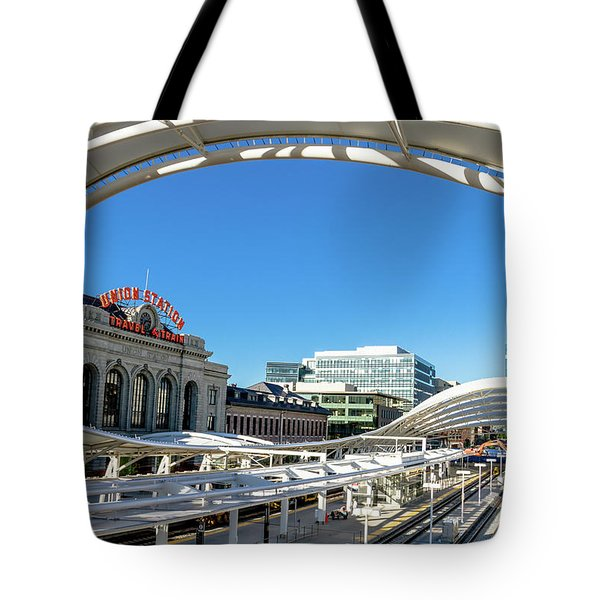 Denver Co Union Station Tote Bag