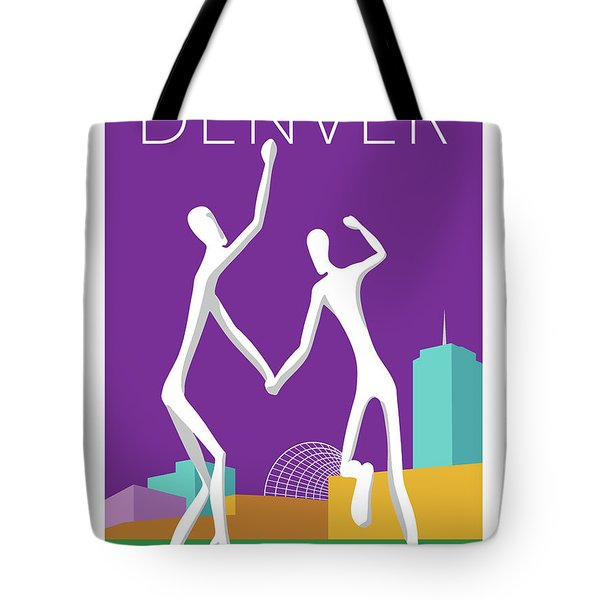 Denver Dancers/purple Tote Bag