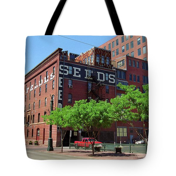 Denver Downtown Warehouse Tote Bag by Frank Romeo