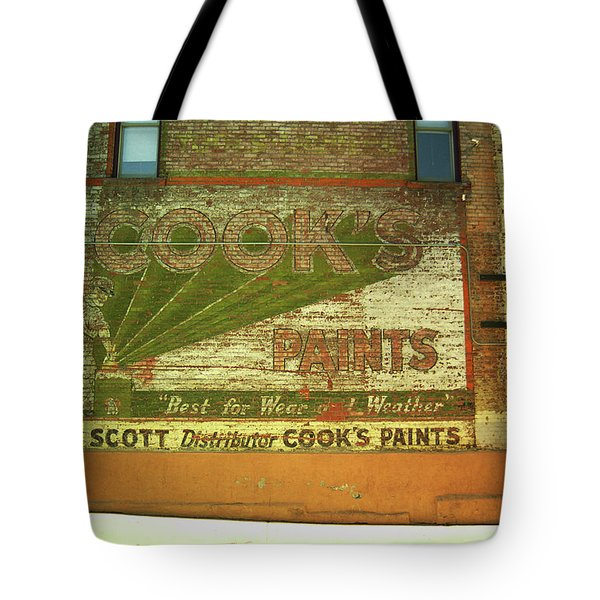 Denver Ghost Mural Tote Bag by Frank Romeo