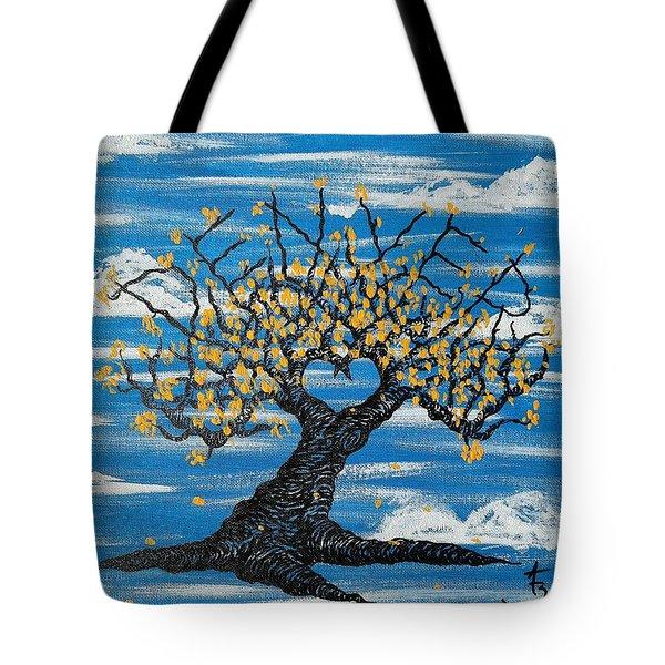 Denver Love Tree Tote Bag
