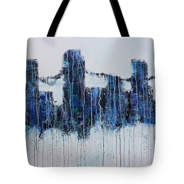 Denver Rain Tote Bag by Jennifer Godshalk