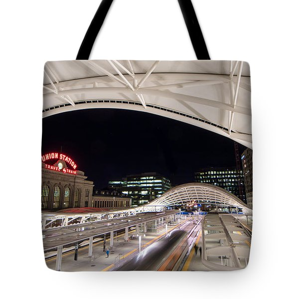 Denver Union Station 3 Tote Bag