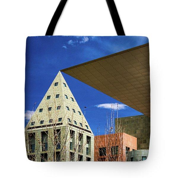 Denver Urban Geometry Tote Bag