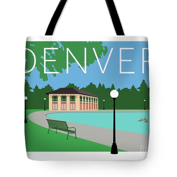 Denver Washington Park/blue Tote Bag