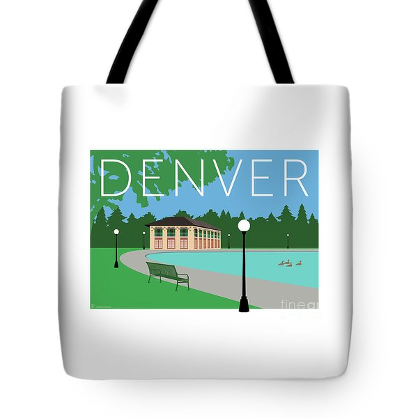 Denver Washington Park/blue Tote Bag