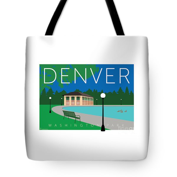 Denver Washington Park Tote Bag