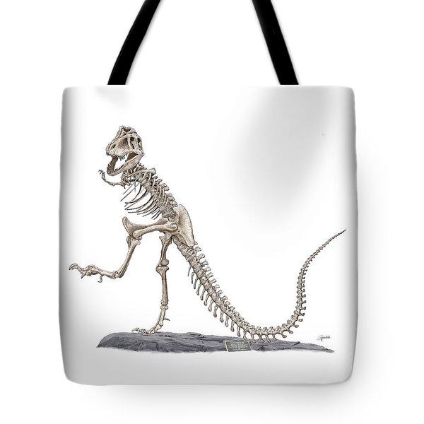 Denvers Dancing T Rex Tote Bag