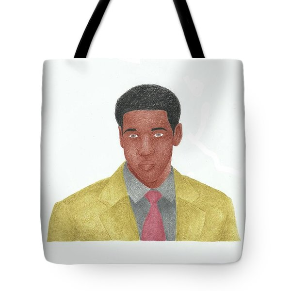 Denzel Washington Tote Bag