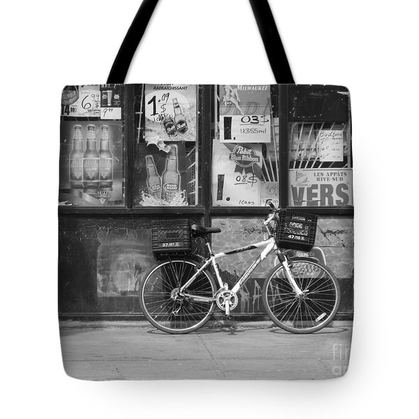 Depanneur Bike Tote Bag