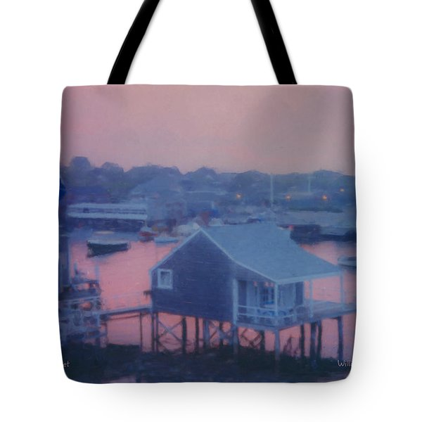 Departing Nantucket Tote Bag