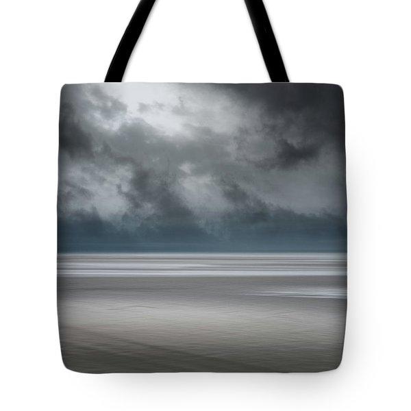 Departing Storm Tote Bag