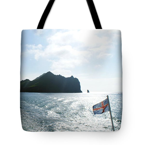 Departing Westman Islands Tote Bag