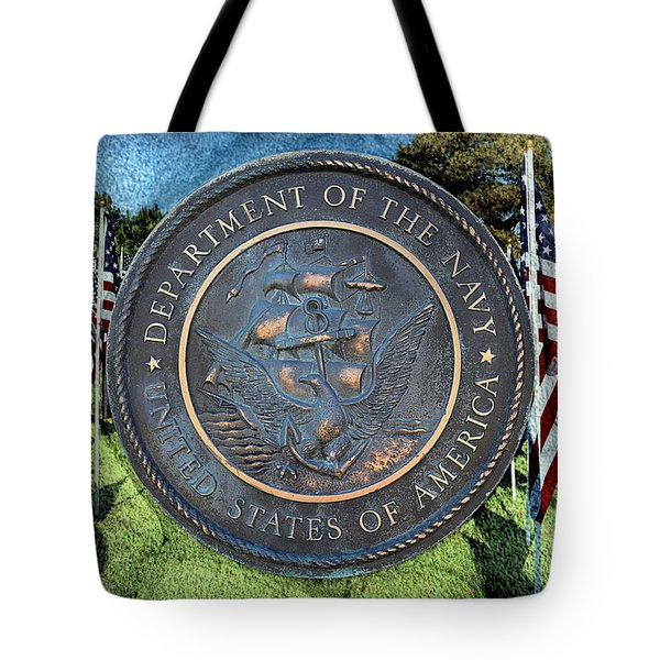 Department Of The Navy - United States Tote Bag